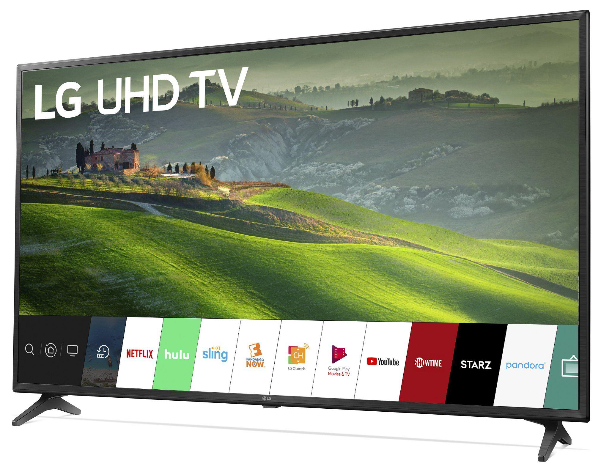 Lg Um6900 55 Inch Led 4k Uhd Smart Tv Smart Tv Cool Things To