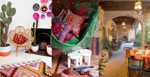 Ideas De Decoracion De Estilo Mexicano Colonial Y Moderno Decoracion Estilo Mexicano Decoracion De Unas Estilo Mexicano