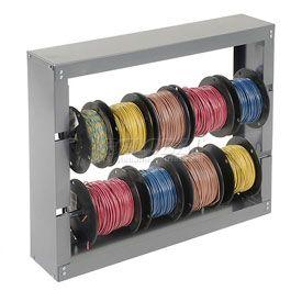 Wire Spool Racks | Wire storage, Wire storage racks, Wire spool on
