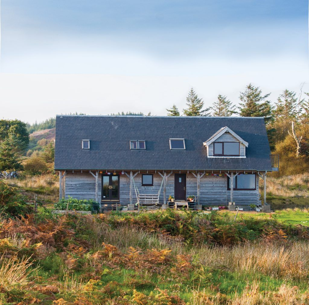 This remarkable low cost straw bale home is testament to what can be