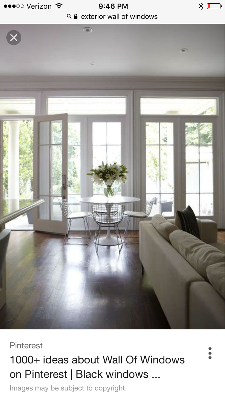 Could We Do 3 French Doors 6 Feet Each Or 5 French Doors Patio