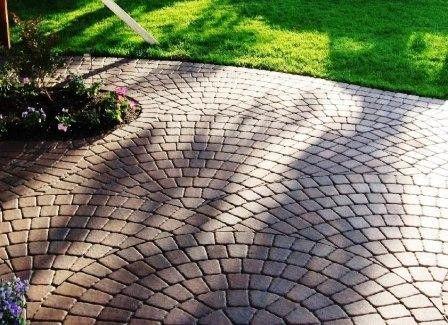 30 Concrete Molds Make 1000s Of Keystone Driveway Pavers