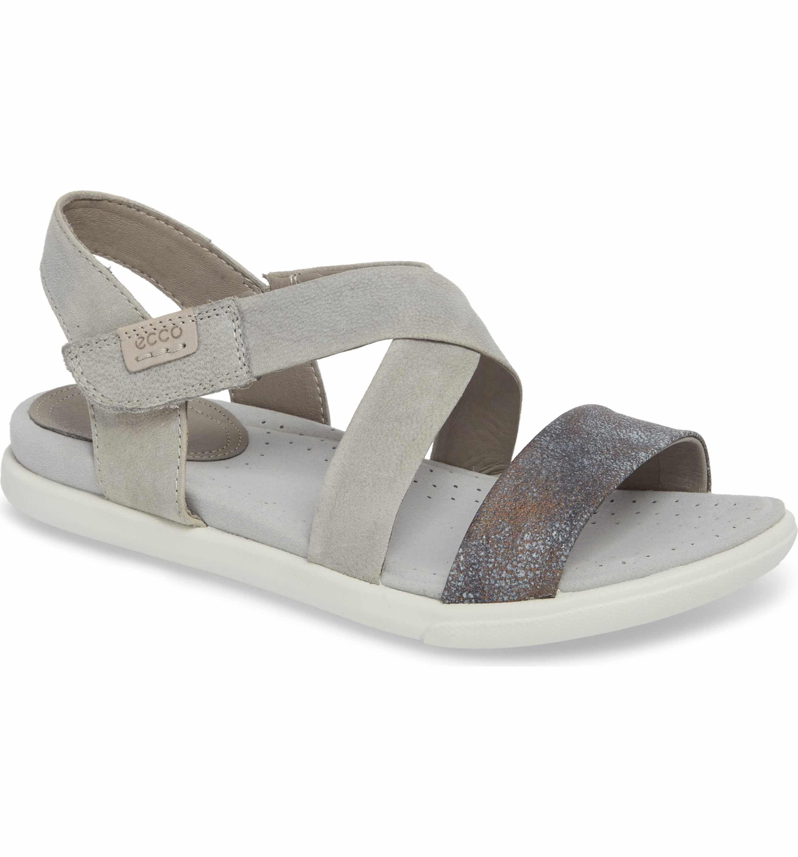 ECCO Damara Cross-Strap Sandal (Women)