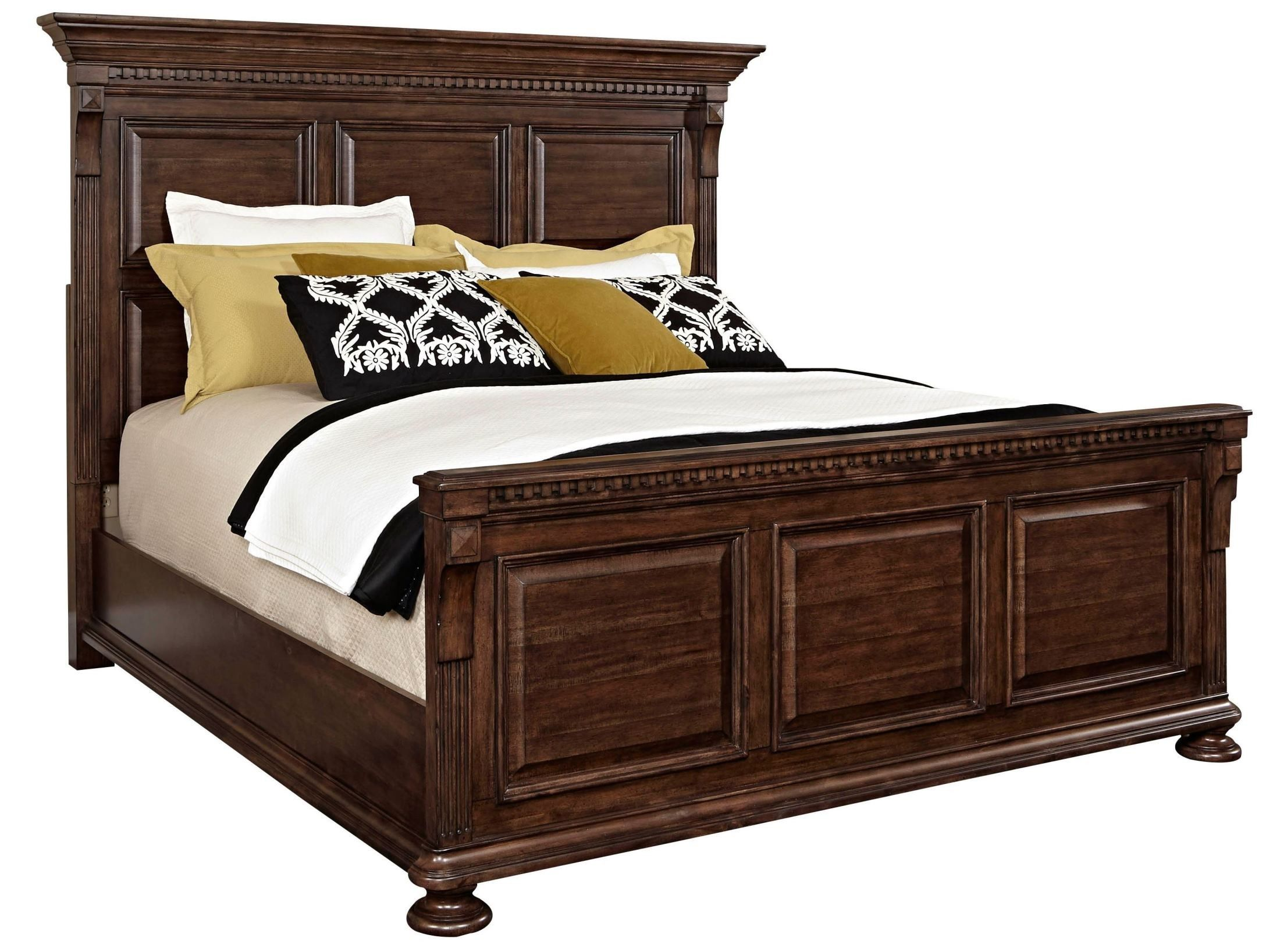 Lyla Cal King Panel Bed Broyhill Furniture Furniture Queen Panel Beds