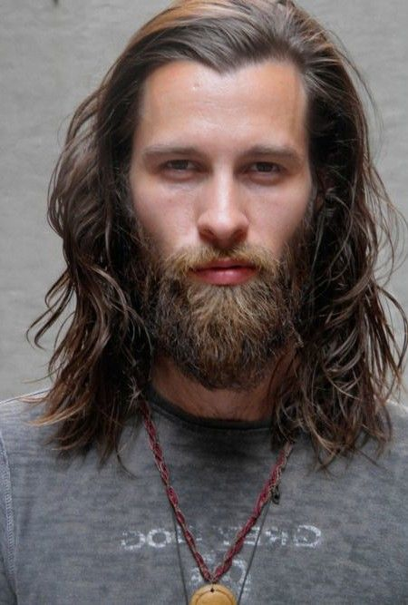 Long Hairstyle For Men With Beard 2016 Mens Hairstyles Beards