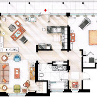 Apartamento dexter morgan dexter decoracion for Decoracion piso big bang theory