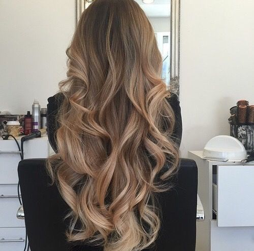 ash blonde brown balayage ombre hair