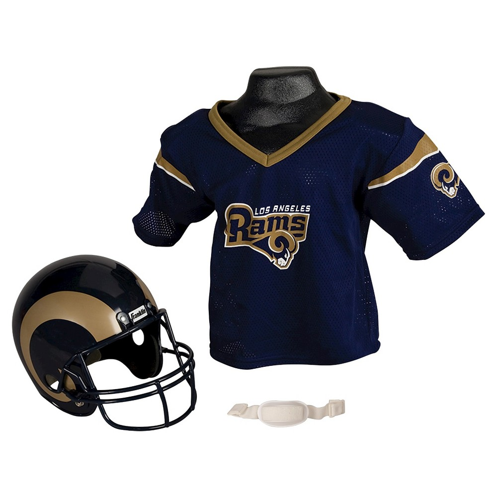 5406c3f6f65 Franklin Sports NFL Los Angeles Rams Helmet Jersey Set