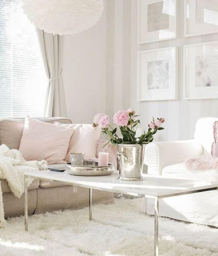 57 Cozy Feminine Living Rooms Decoration Ideas Feminine Living Room Living Room Decor Living Room Designs