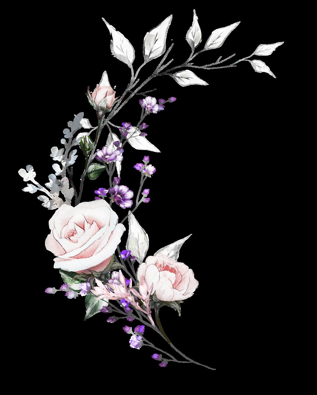 нежные цветы картинки на прозрачном фоне упор