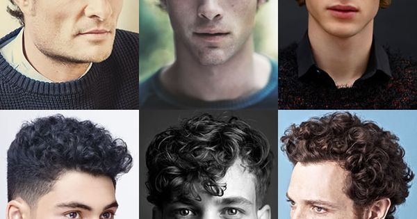 Liked on Pinterest: Ideas de cortes para hombre con  cabello ondulado. 2015