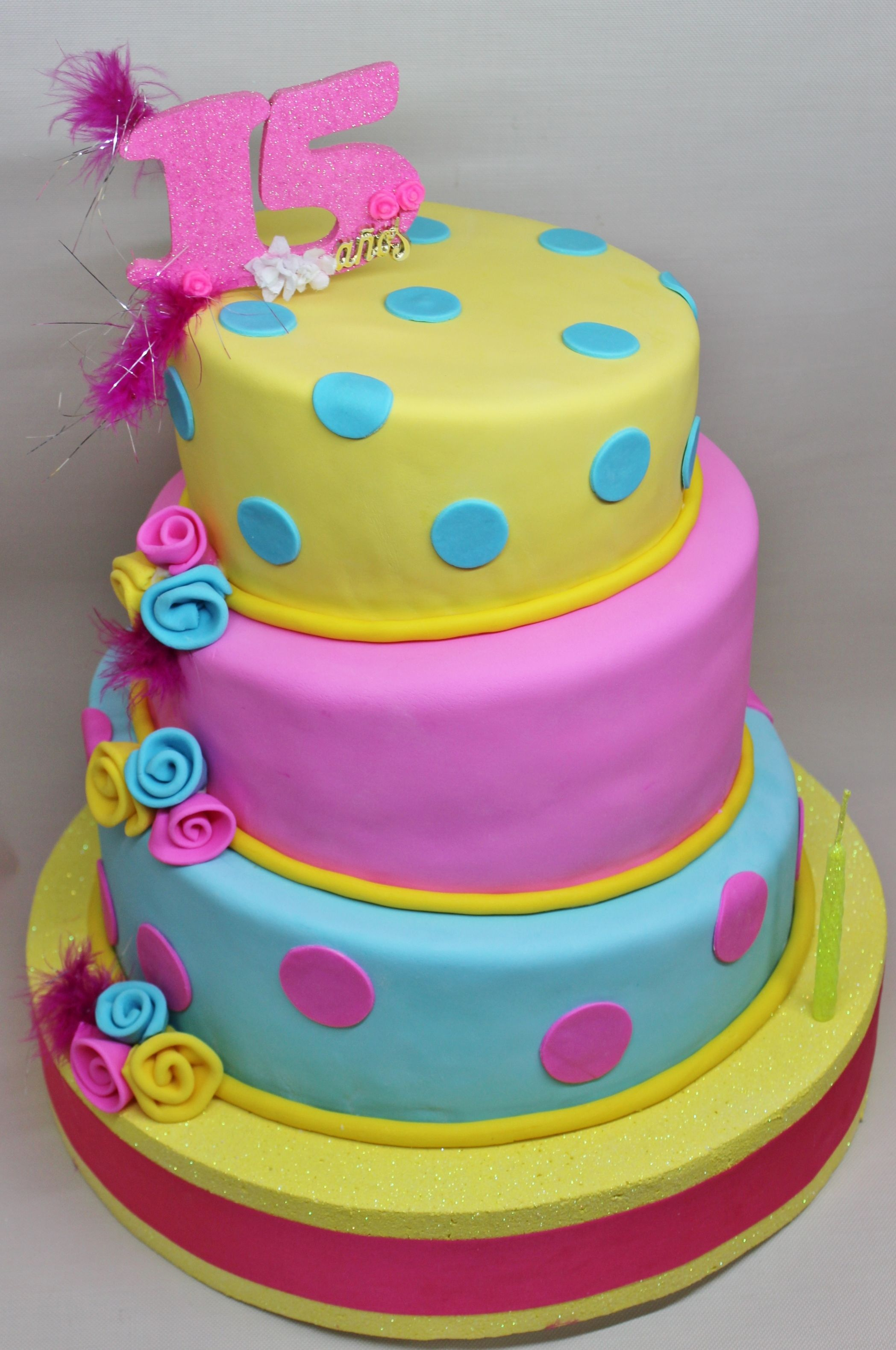 16 Sweet Cake Topsy Turvy by Violeta Glace