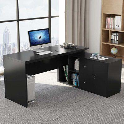 Ebern Designs Farnborough L Shape Executive Desk L Shaped
