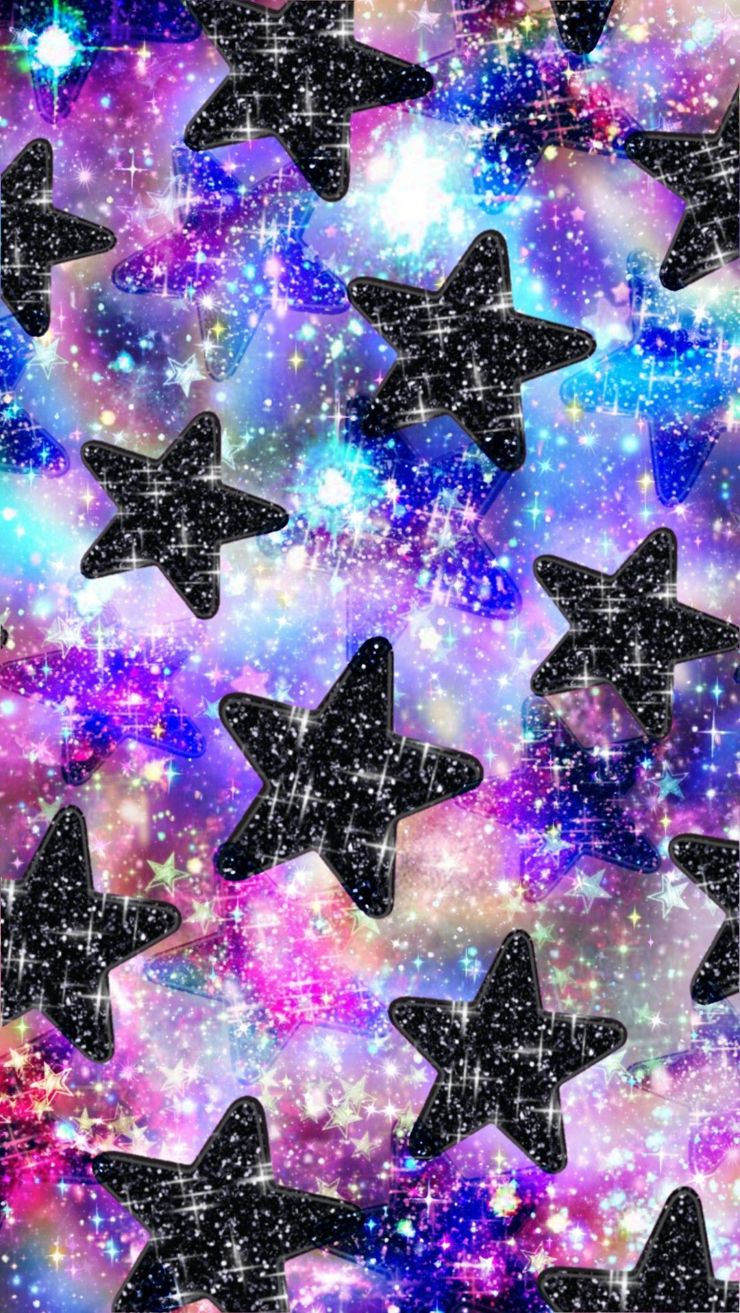 Sparkly Stars Made By Me Purple Sparkly Wallpapers Backgrounds Sparkles Glittery Galaxy Backgrounds Girly Abstract Art Wallpaper Wallpaper Backgrounds
