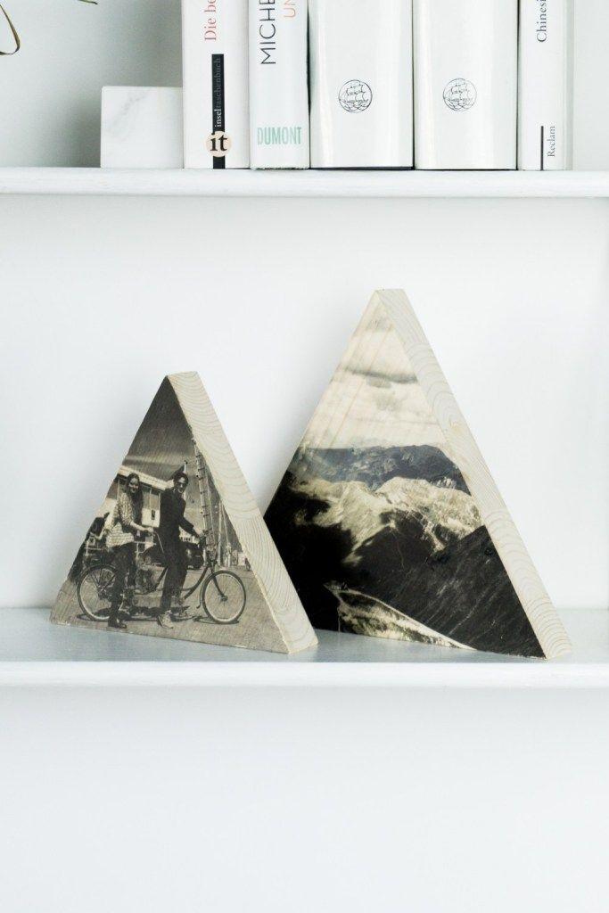 Foto auf Holz DIY - so gelingt es #fotogeschenk