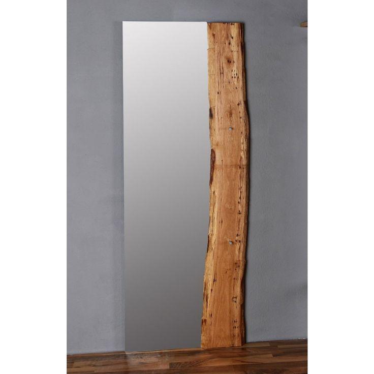 Spiegel Eiche Woodline Massiv 70x190cm Fur Flur Pickupmobel De