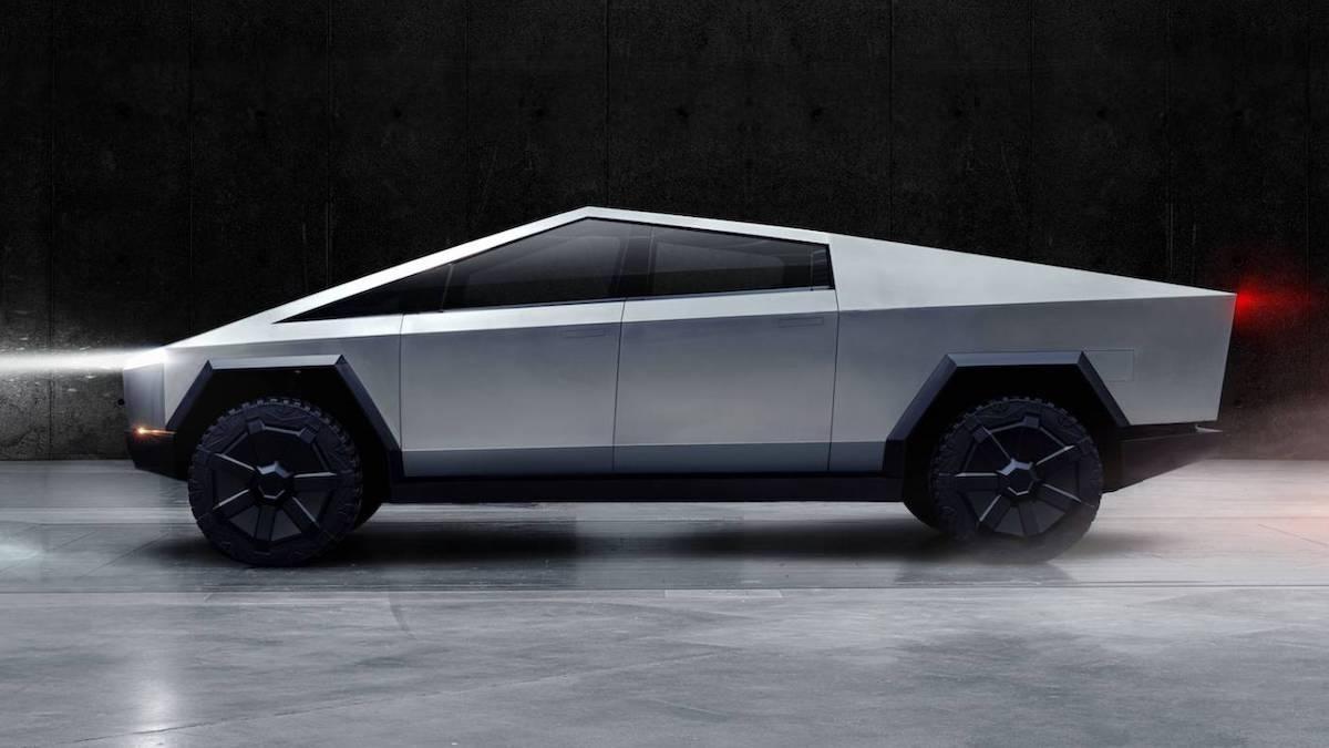 Nice Cyberpunk 2077 Elon Musk S Cybertruck May Appear Tesla Car Automotive Design