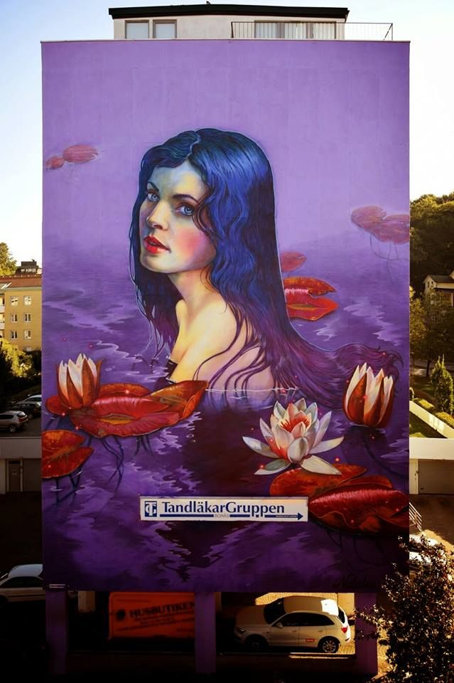 Natalia Rak:Ophélia #streetart