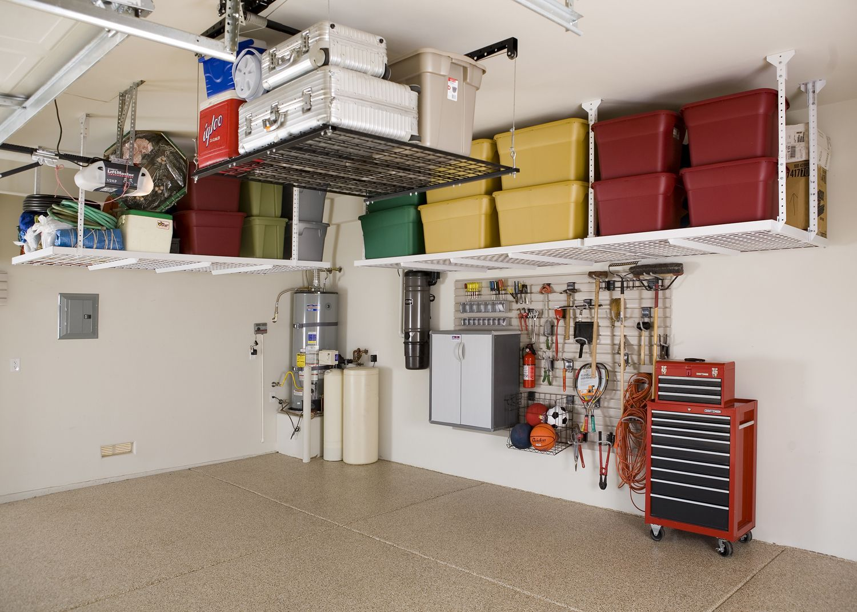 likable garage racks overhead roselawnlutheran 1000 images garage organization ideas 1000 images about ceiling overhead storage ideas on pinterest overhead garage