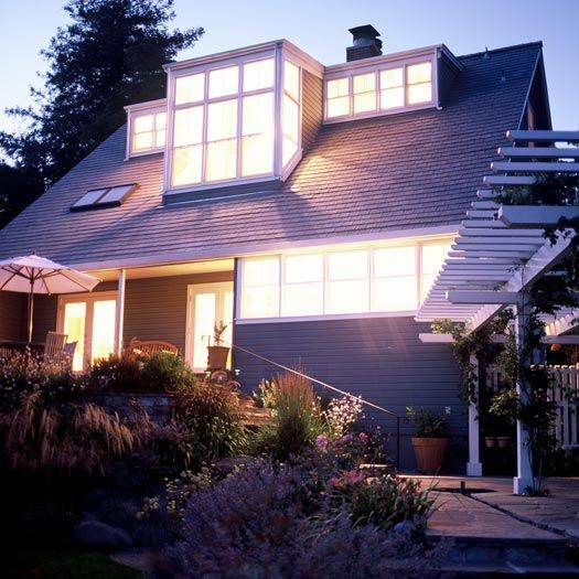 Adding Dormers To Attic: Contemporary House Renovation Large-shed-dormer Structure