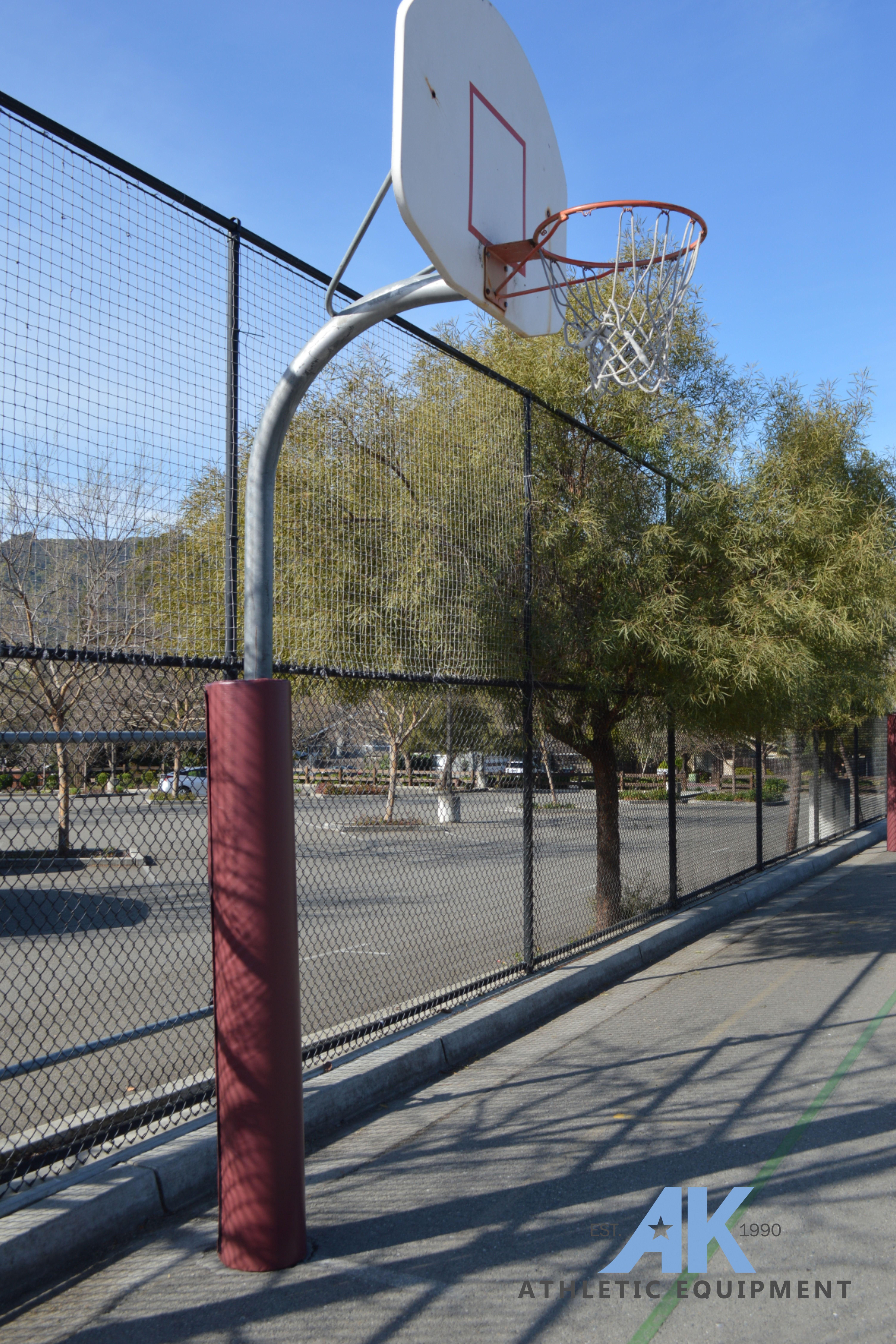 Basketball Pole Pad Basketball Hoop Pad Outdoor Basketball Goal Pad In 2020 Outdoor Basketball Court Basketball Hoop Padding Outdoor Playground