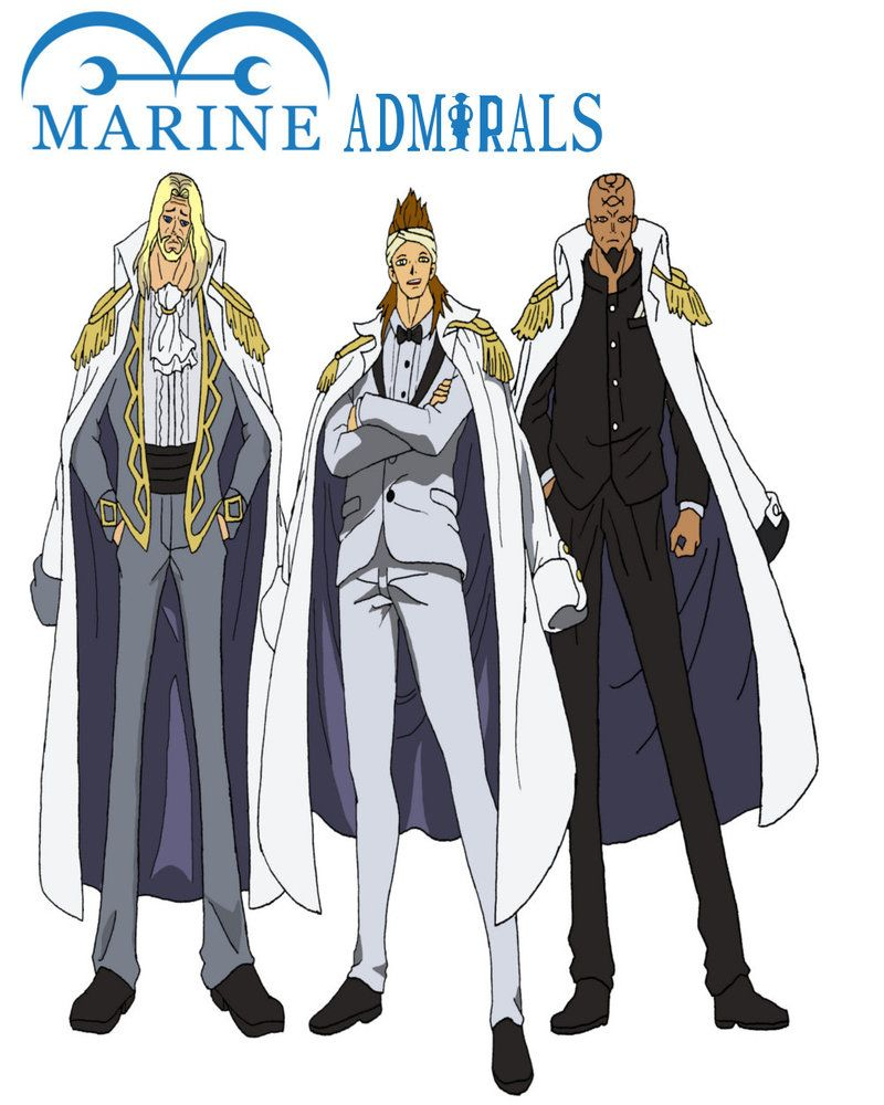 Collection Image Wallpaper One Piece Admirals