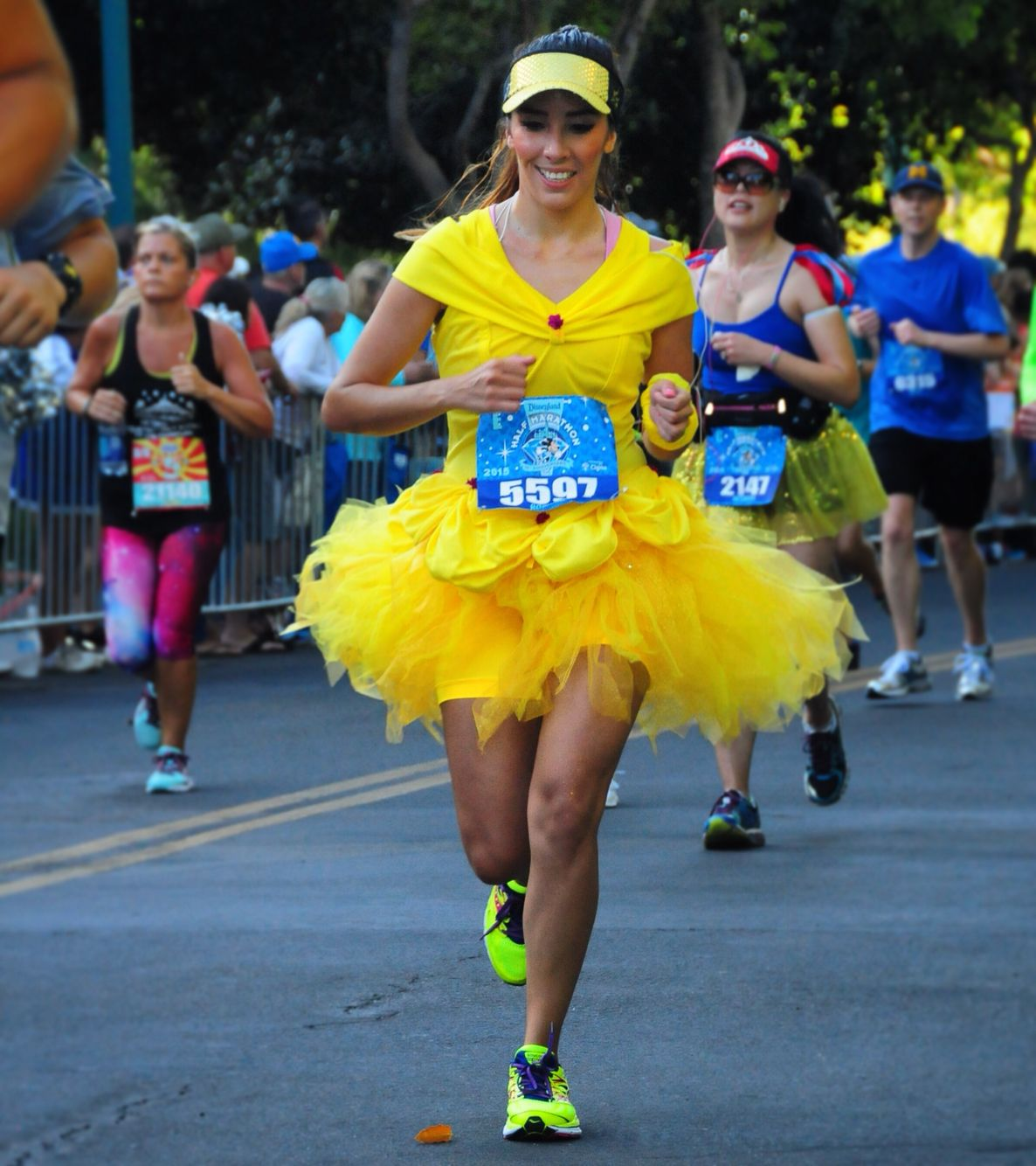 princess belle running costume rundisney 2015