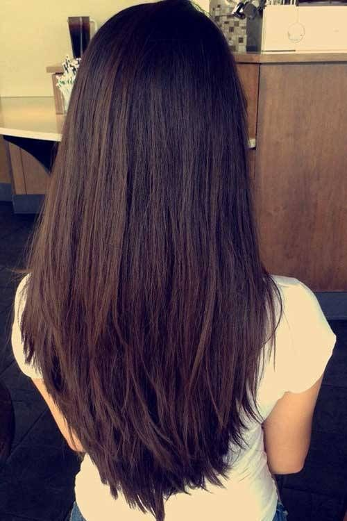 Classy Layers For U Shaped Cut Layered Hairstyles For Long Hair
