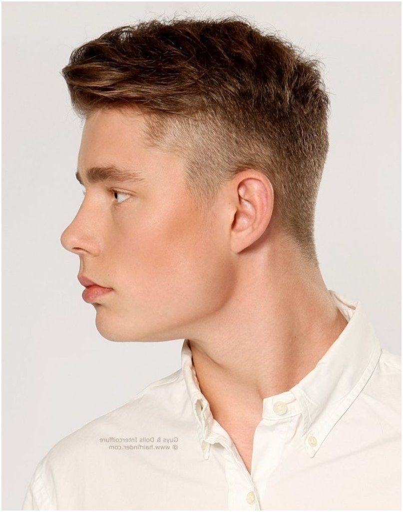Mens Hairstyles Short Sides Longer Top