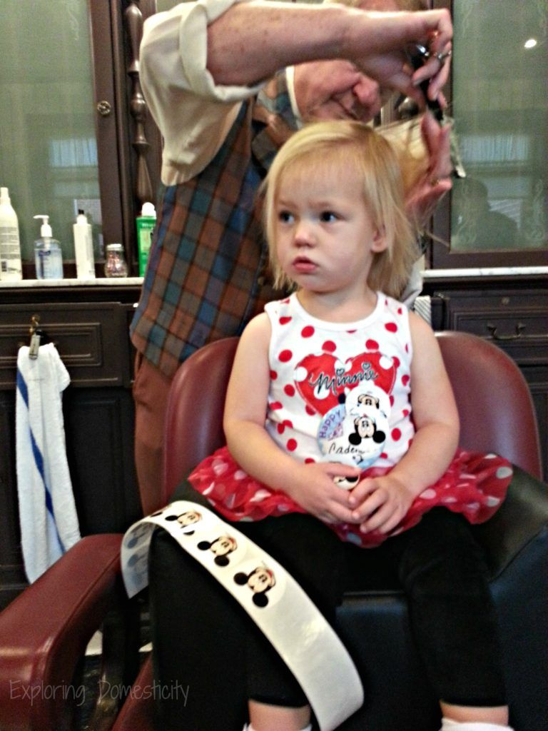 Walt disney world with toddlers mustdos and tips barbershop