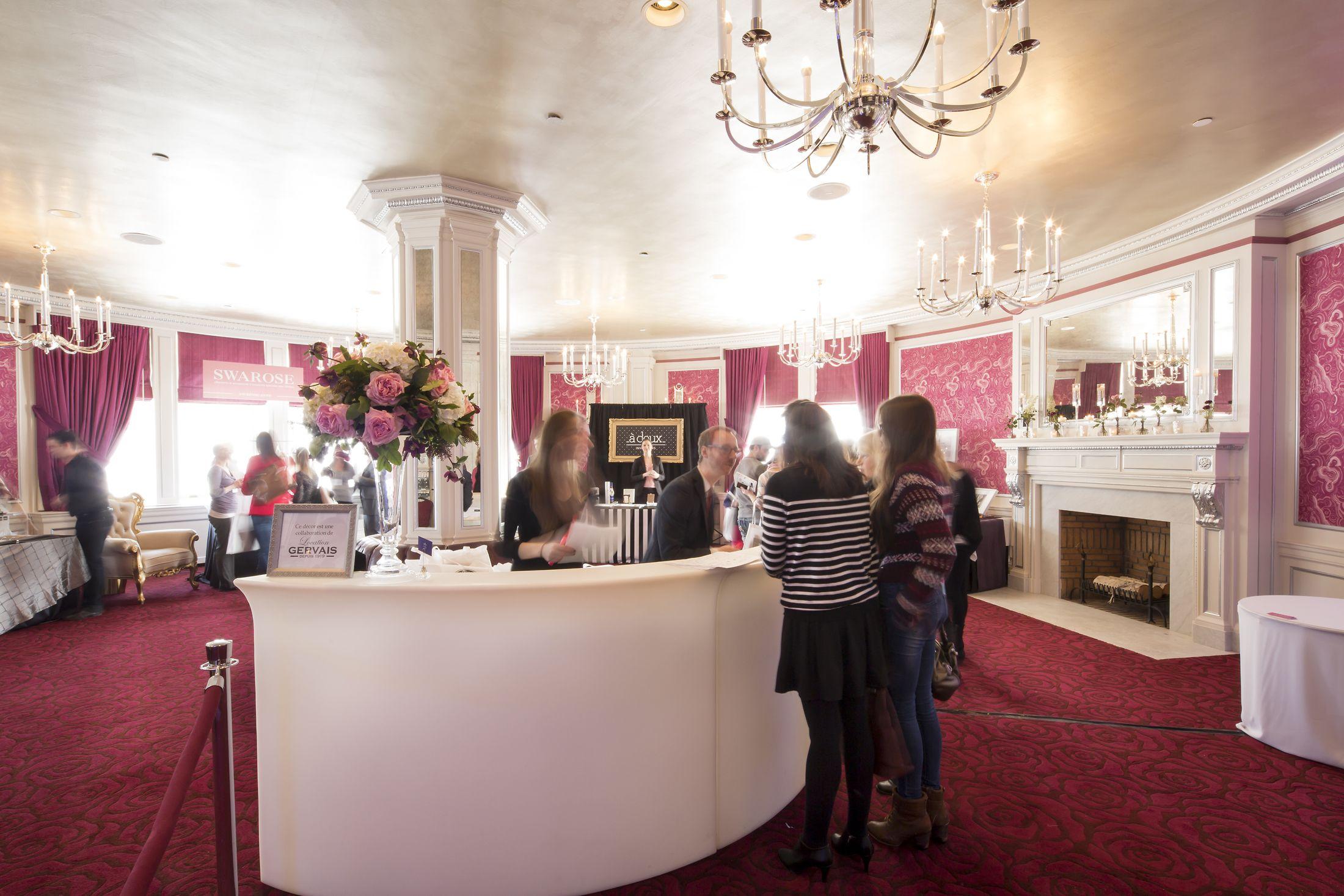 Fairmont le ch teau frontenac le salon rose photo par for Le salon chatou