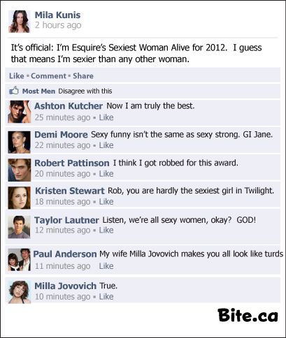 Facebook sexy comments