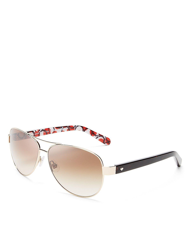 71d513421b2 kate spade new york Dalia Aviator Sunglasses