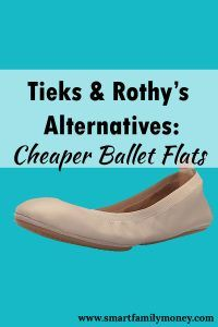 d253bdb51b Are you curious about Tieks ballet flats, but don't want to spend that much  on a pair of shoes? Here are three cheaper options for a Tieks alternative!