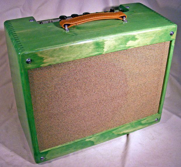Fender Style Deluxe 5E3 Custom by Orbital Lex Translucent Green ...