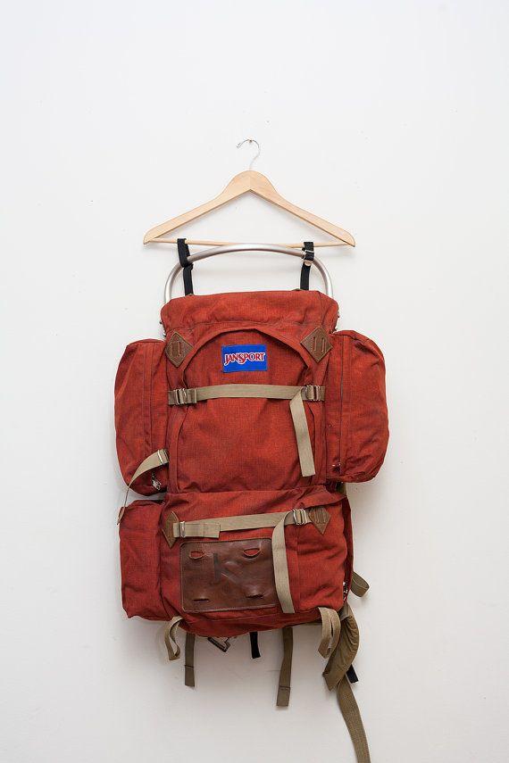 Classic Jansport External Frame Hiking Pack | JanSport, Backpacks ...
