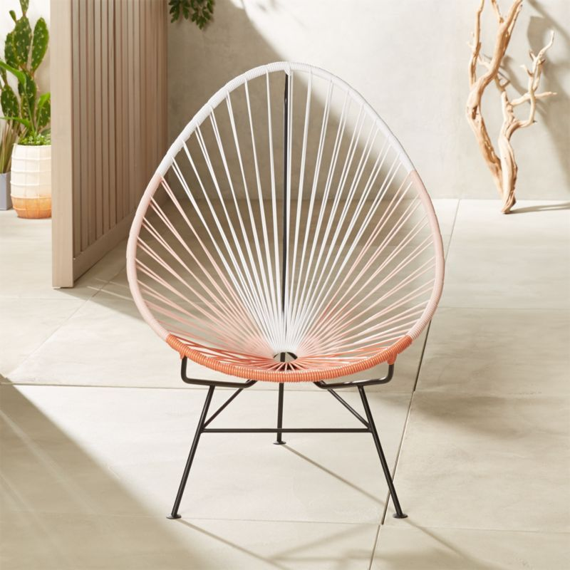 Acapulco Pink Egg Outdoor Chair Reviews Modern Outdoor Chairs