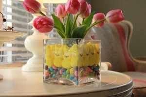 jarrones de cristal decorados