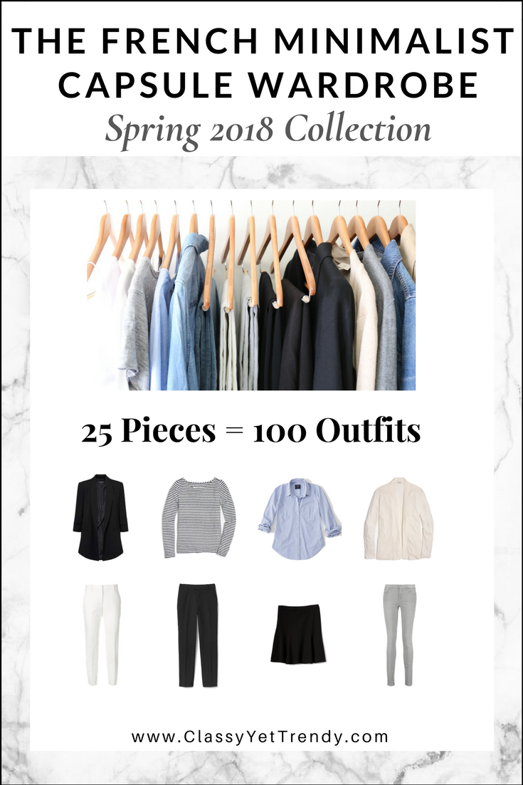 the french minimalist capsule wardrobe spring 2018 on extraordinary clever minimalist wardrobe ideas id=74052