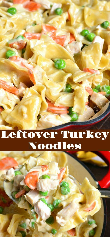 Photo of Leftover Turkey Noodles