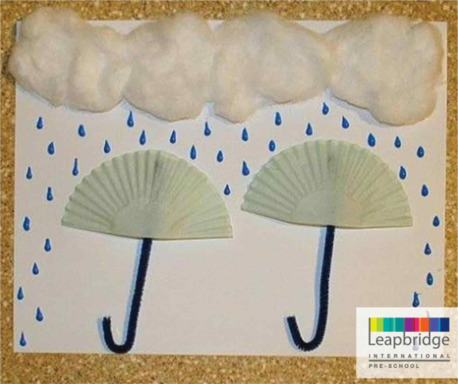 Preschool Rain Crafts