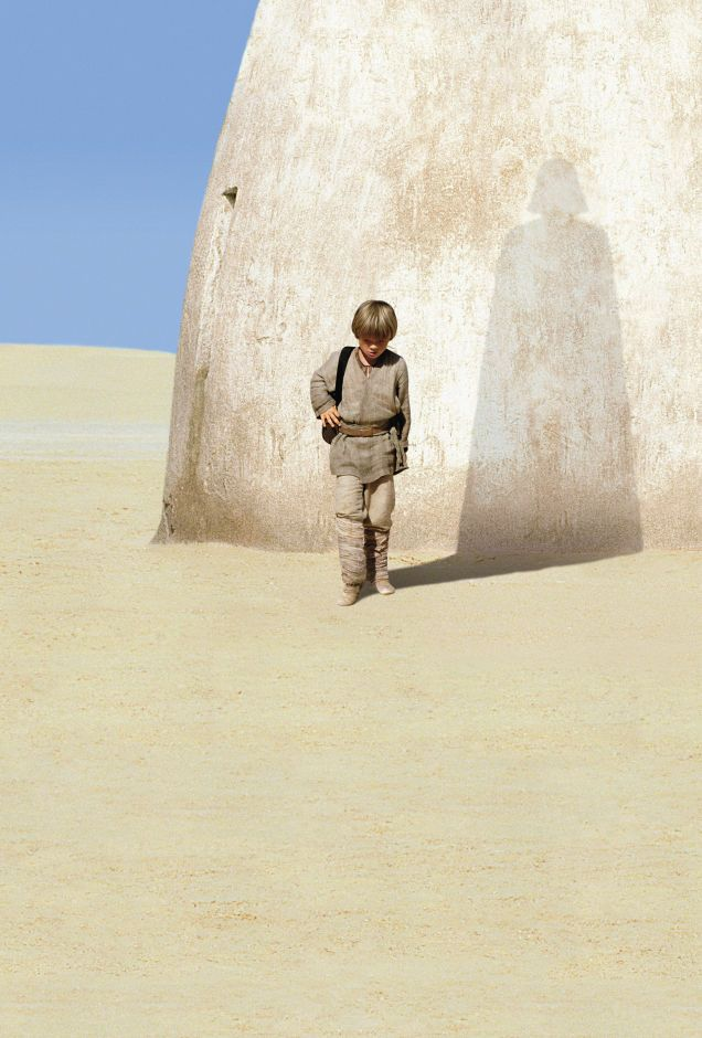 Image result for phantom menace anakin darth vader shadow