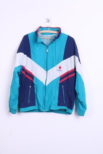 Canada Womens L Bomber Jacket Track Top Sport Vintage Retrospectclothes Women S Coats Jackets Jackets Sport Outfits