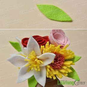 Are you interested in felt flower bouquet? If yes, you must be pretty satisfied with today's Pandahall tutorial on how to make easy felt flower bouquet at home. #feltflowertemplate Are you interested in felt flower bouquet? If yes, you must be pretty satisfied with today's Pandahall tutorial on how to make easy felt flower bouquet at home. #feltflowertemplate