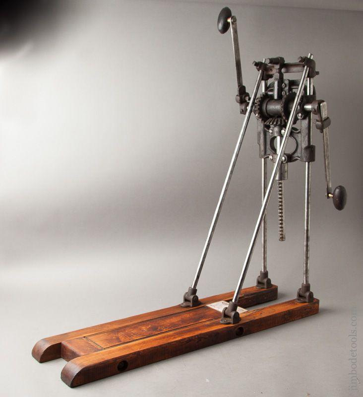 MILLERS FALLS Boring Machine Human powered tools | ALL tools should ...