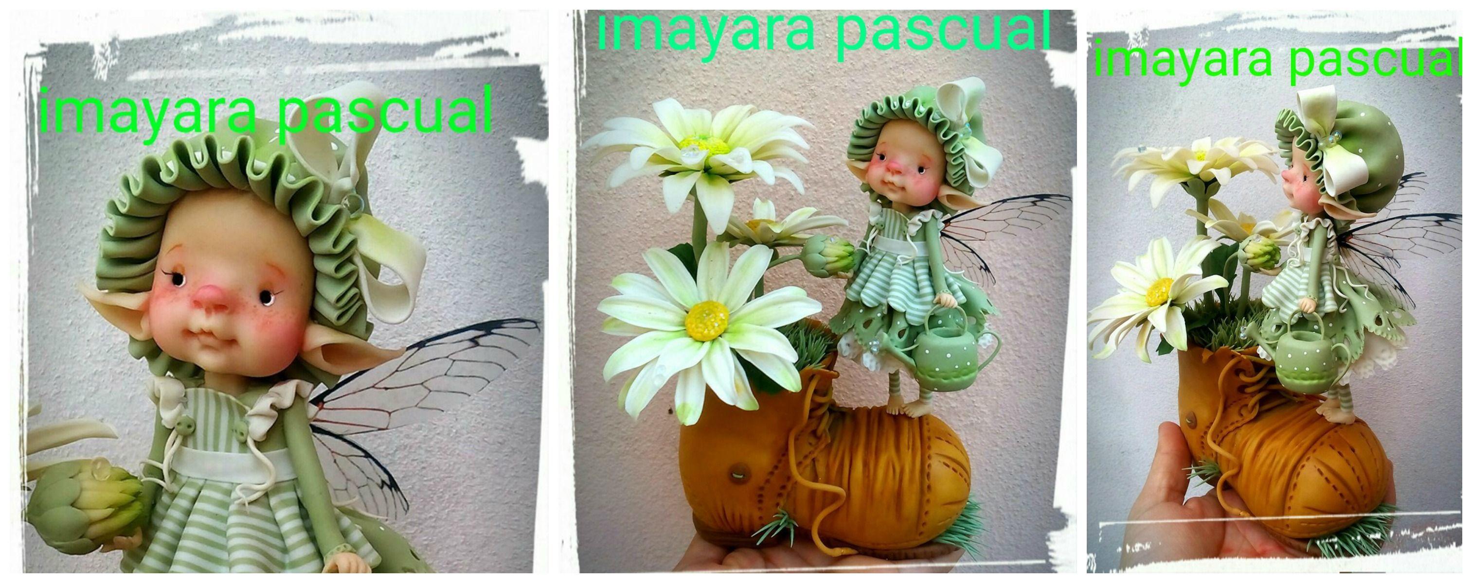 By Imayara Pascual 2016   polymer   Pinterest   Filzen