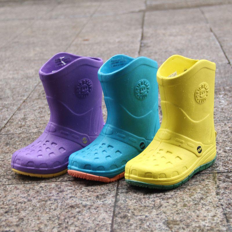 Korean Kids Rain Boots Children Baby