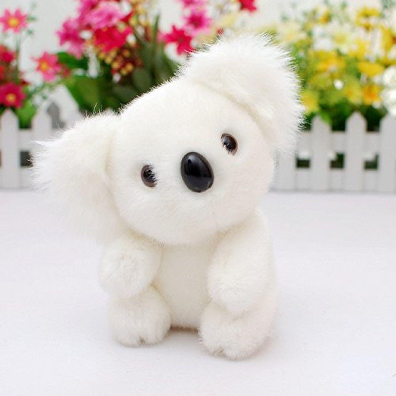 Lazada Sitting Koala Baby Stuffed Animal Plush Toy Dolls White 5\'\'