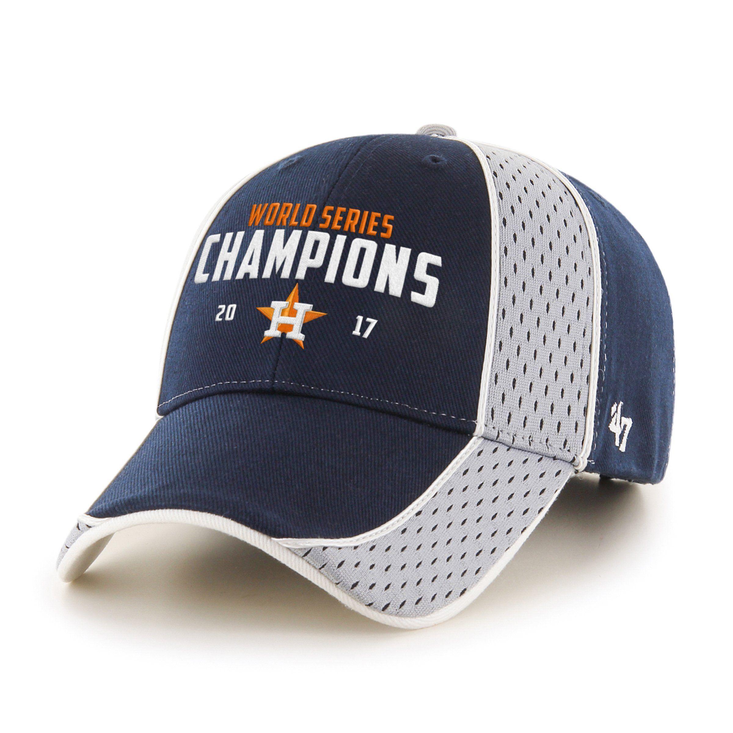 16061dbaf0942 ... best price houston astros 47 brand 2017 world series champions  structured navy adj hat cap 7a7f2