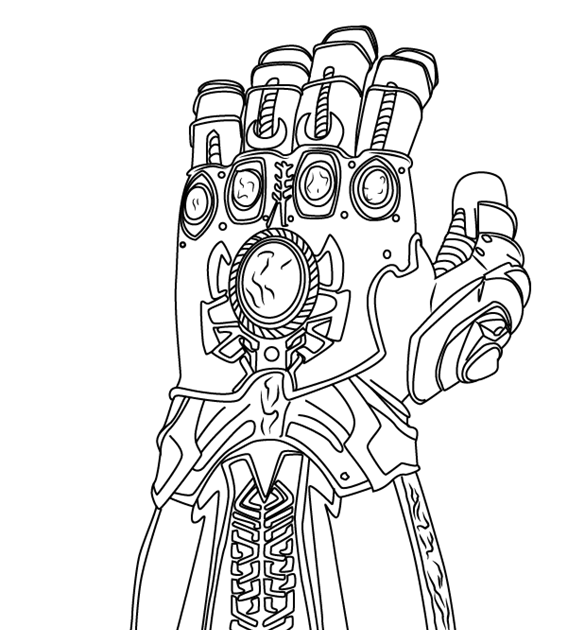 Learn How To Draw The Infinity Gauntlet From Avengers Infinity Coloring Pages Avengers Para Colorear Spiderman Dibujo Para Colorear Superheroes Para Colorear